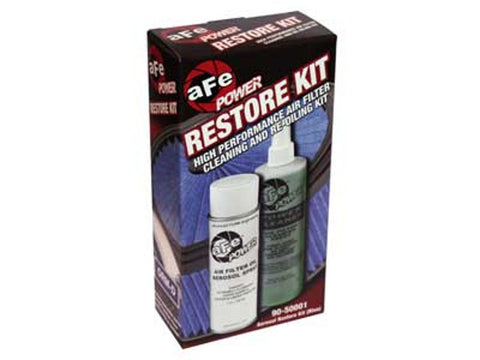 AFE Oiled Filter Restore Cleaner Kit, Aerosol  Blue Oil  90-50001