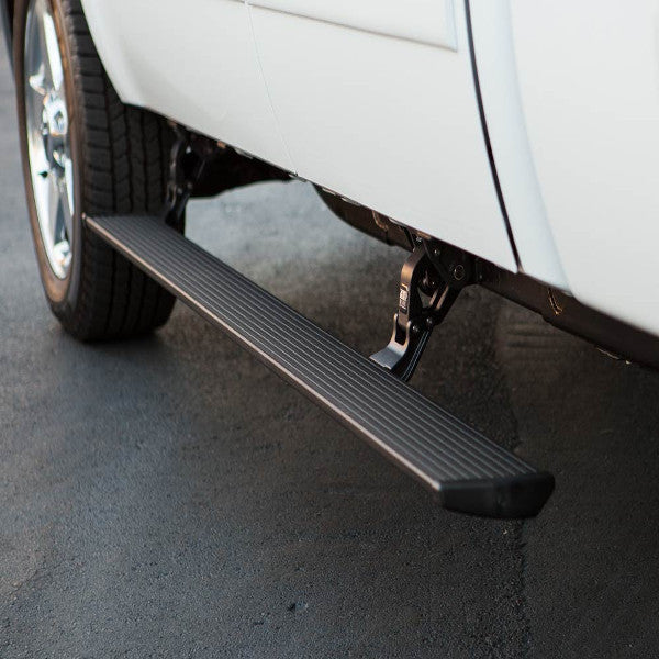 AMP Research PowerStep Running Boards (Black) (Hardwired) non plug & play - 75154-01A  Chevy 6.6 Duramax 2015-2017 Silverado/GMC Sierra Crew/Double Cab 2500/3500