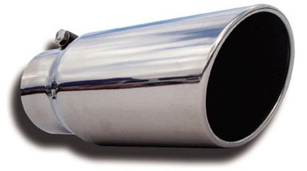 FLO PRO DODGE ECO DIESEL STAINLESS ROLLED TIP 3 INCH INLET ...