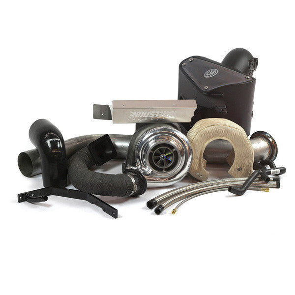 Industrial Injection Add-A-Turbo Compound Kit S3GAT 2003-2007 Dodge 5.9L Cummins
