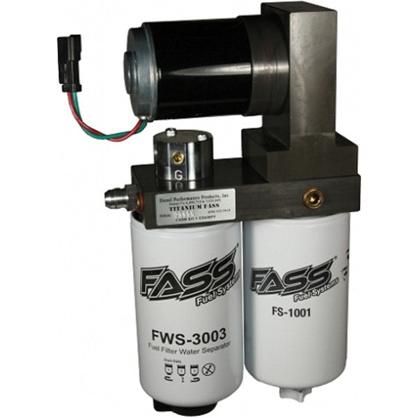 FASS TS D08 290G TITANIUM SIGNATURE SERIES 290GPH FUEL SYSTEM Dodge Cummins 5.9L 1998.5-2004  ( With factory lift pump by the block)