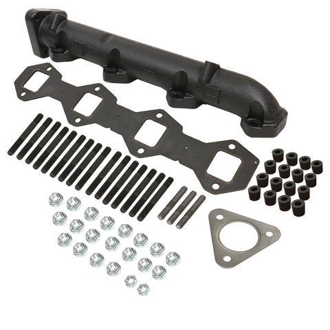 BD Diesel 1043006 6.7L Powerstroke Driver's Side Exhaust Manifold Kit - Ford 2011-2016 F250/F350 Super Duty