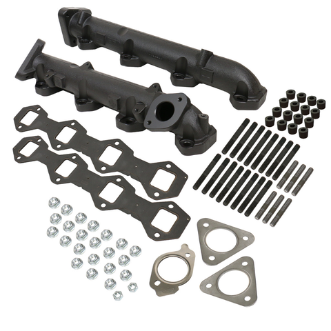 BD Diesel 1043007  6.7L Powerstroke Exhaust Manifold Kit - Ford 2011-2014 F250 / F350 / F450 / F550 Super Duty