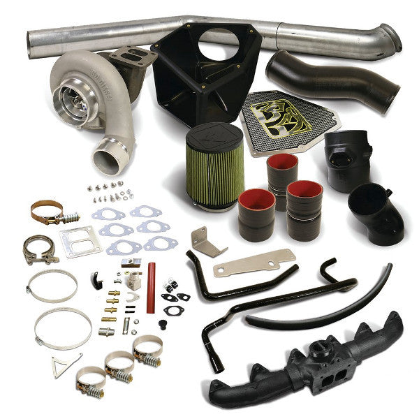 BD-Power 1045747 Rumble B S366SX-E Turbo Kit 2010-2012 Dodge 6.7L Cummins (550HP-650HP)