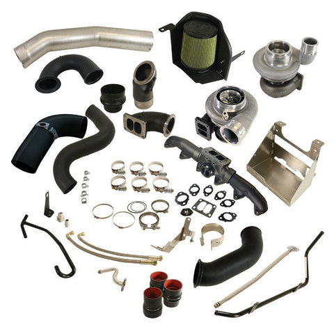 BD Diesel 1045785 Cobra Twin Turbo Kit S364.5SX-E / S480SX-E - Dodge Cummins 2010-2012 6.7L
