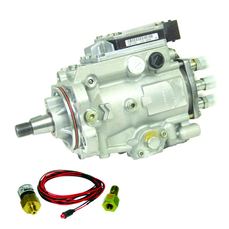 BD Diesel 1050037 VP44 Injection Pump - Dodge 1998.5-2002 Auto / 1998.5-2002 5-speed c/w LED Alarm