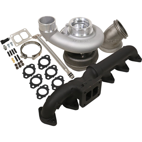 BD Diesel 1045176 Iron Horn 5.9L Cummins Turbo Kit S366SXE/80 0.91AR Dodge 2003-2007