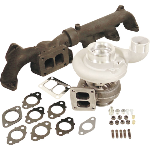 BD  Diesel 1045297 Iron Horn 6.7L Cummins Turbo Kit S366SXE/80 1.00AR Dodge 2007.5 - 2018