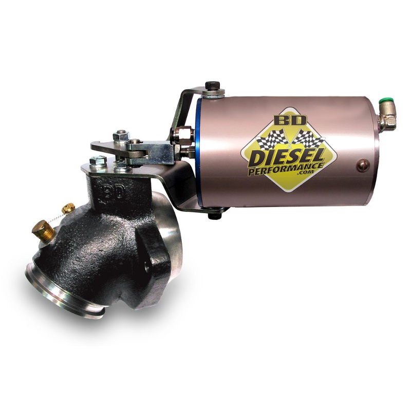 BD Diesel 2033135 Exhaust Brake - 1989-1998 Dodge  Cummins 60psi Vac/Turbo Mount