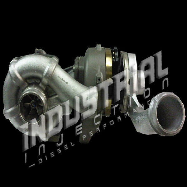 Industrial Injection IISPS7158B64CMPT  Stage 2 Phatshaft 2007-2010 6.4L Powerstroke Compound Turbo Upgrade