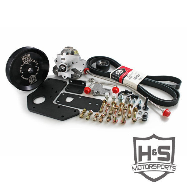 H&S Motorsports 211003  2007-2018 Cummins 6.7L Dual High Pressure Fuel Kit