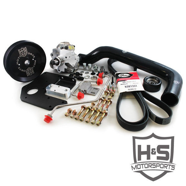 H&S Motorsports 451003  2004.5-2007 Cummins 5.9L Dual High Pressure Fuel Kit