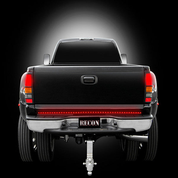 "Recon 26411  60"" Hyperlite Red L.E.D. ""Line Of Fire"" Tailgate Light Bar (Fits most full-sized trucks and SUV's)."