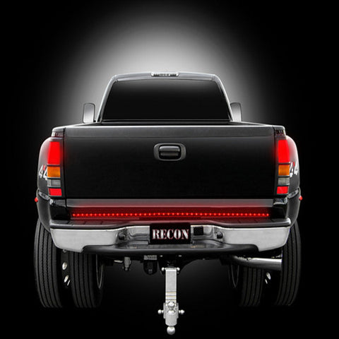 "Recon 26412  49"" Hyperlite Red L.E.D. ""Line Of Fire"" Tailgate Light Bar (Fits most flare-side and smaller trucks and SUV's)"