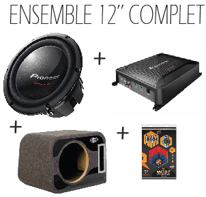 Ensemble Sub/Ampli 12""