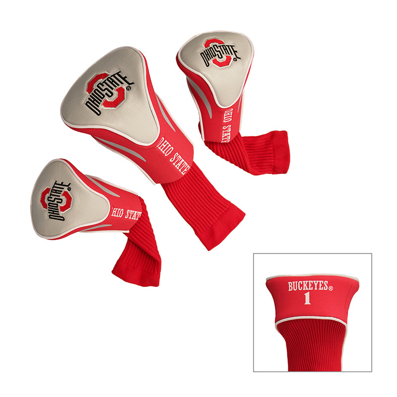Ohio State 3-pack contour headcover