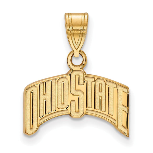 Ohio State Gold Pendant