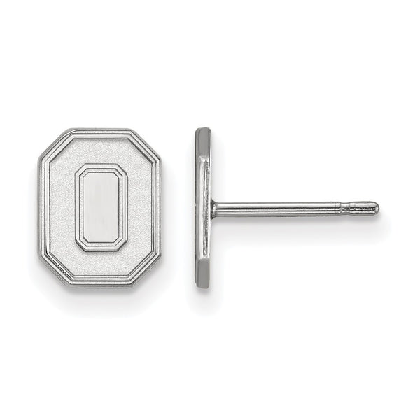 Ohio State post earrings