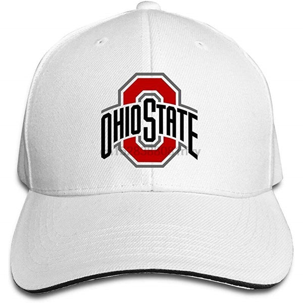 BOoottty Ohio State Logo Flex Baseball Cap Ash