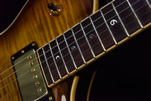 Pre-Owned Baccus Nautilus Semi Hollow Special Reserve #4 2015 Light Tiger Eye Burst