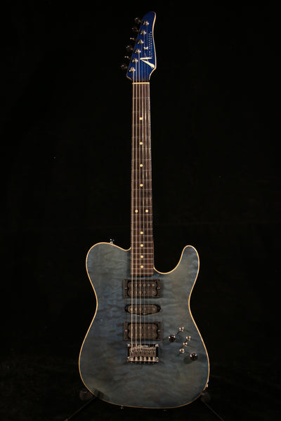 Pre-owned Tom Anderson Hollow T Contoured Deep Ocean Blue 2002