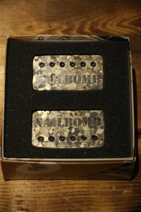 Bare knuckle pickups NailBomb humbucker Covered set