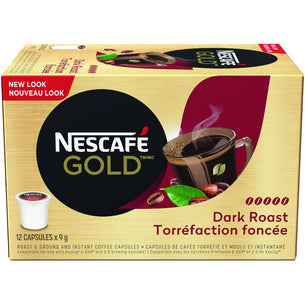 Gold Dark Roast Coffee Capsules (12ct)