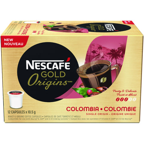 GOLD ORIGINS COLOMBIA Coffee Capsules (12ct)