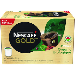 GOLD Organic Coffee Capsules (10ct)