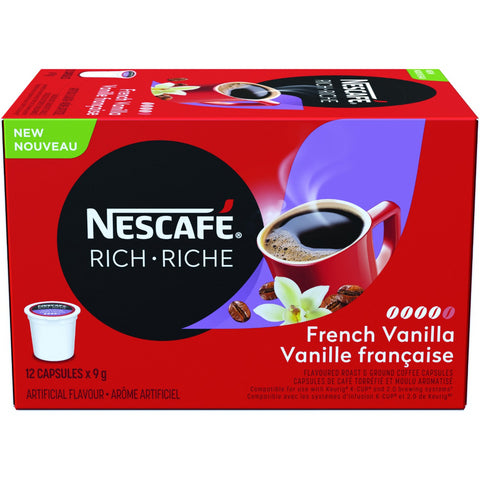 Rich French Vanilla Coffee Capsules (12 ct)