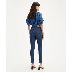 LEVIS MILE HIGH SUPER SKINNY - CATCH ME OUTSIDE DARK WASH