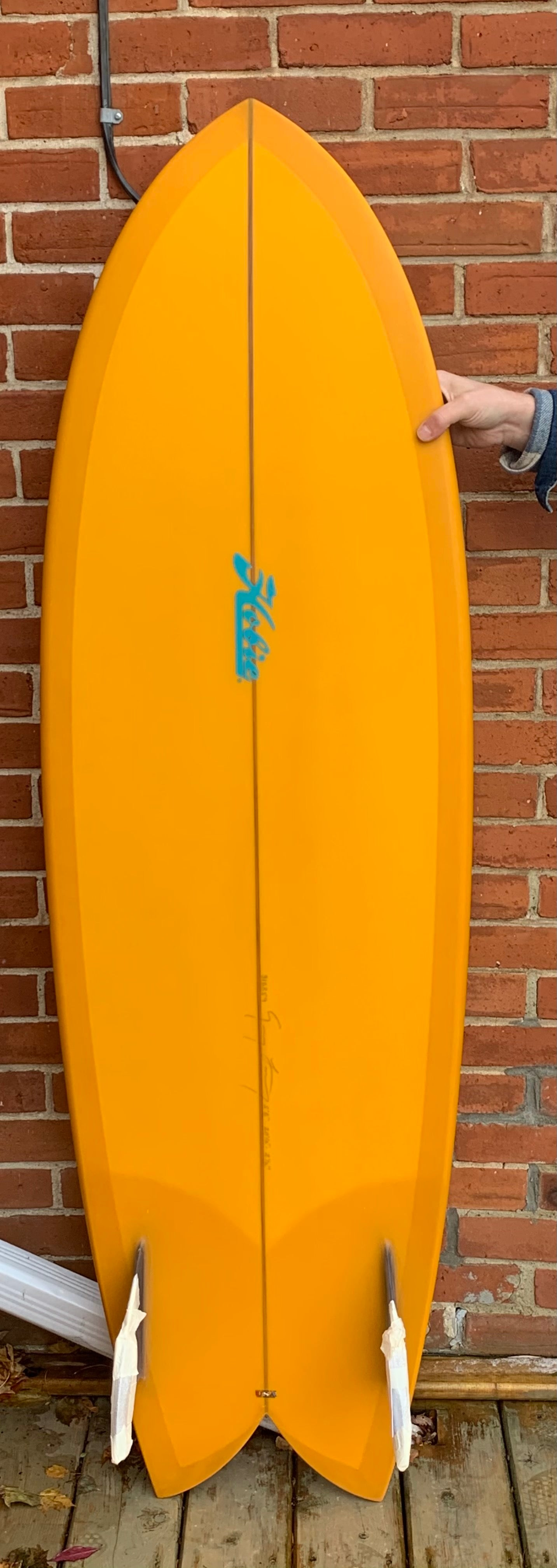 5'8 HOBIE CIRCA FISH - YELLOW