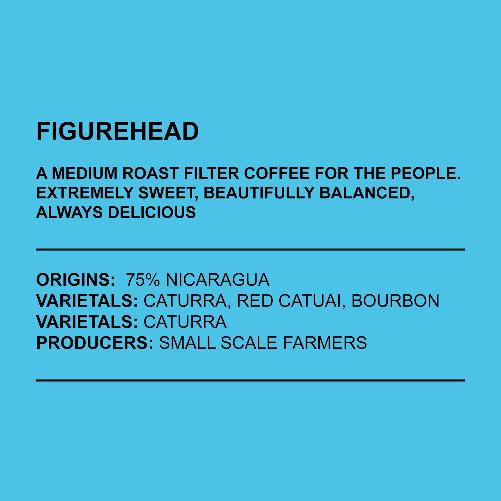 ANCHORED COFFEE - FIGUREHEAD FILTER