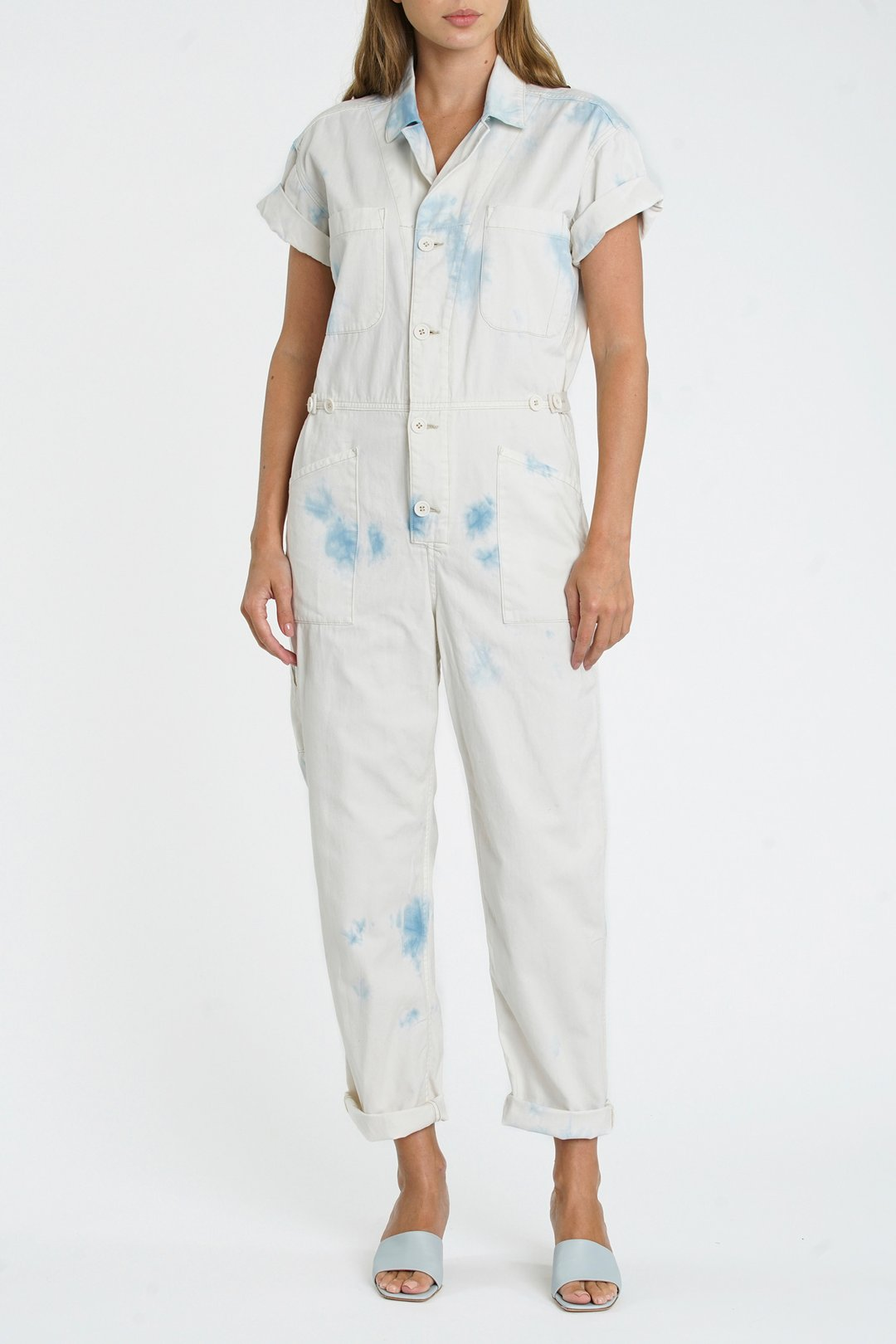 PISTOLA GROVER SHORT SLEEVE FIELDSUIT - BLUE SURF
