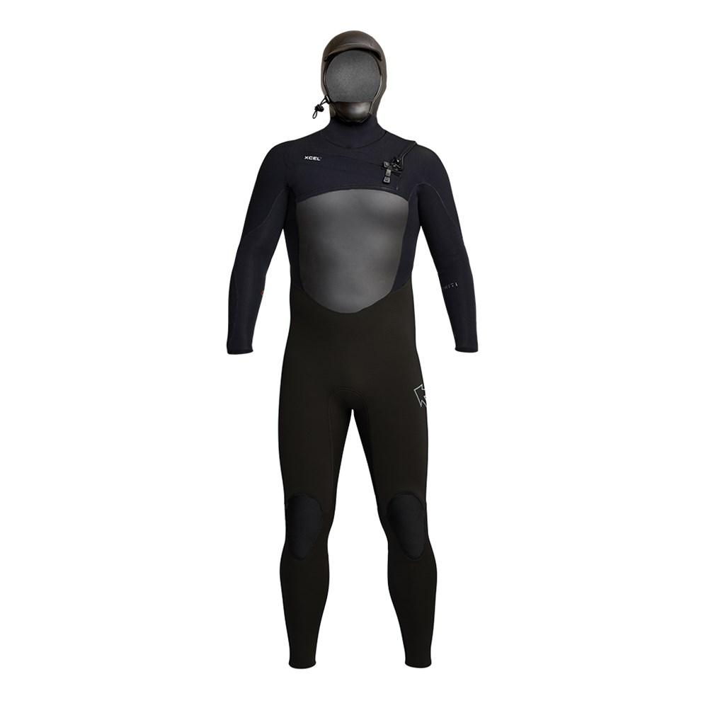 XCEL MENS INFINITI 5/4 MM HOODED FULLSUIT