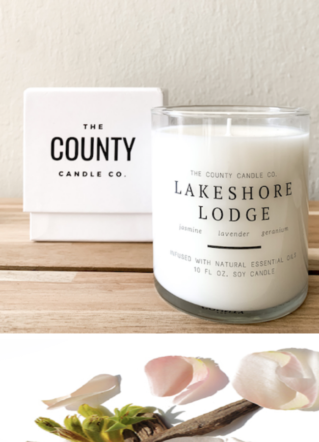 COUNTY CANDLE CO. - LAKESHORE LODGE