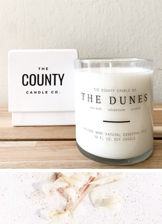 COUNTY CANDLE CO. - THE DUNES