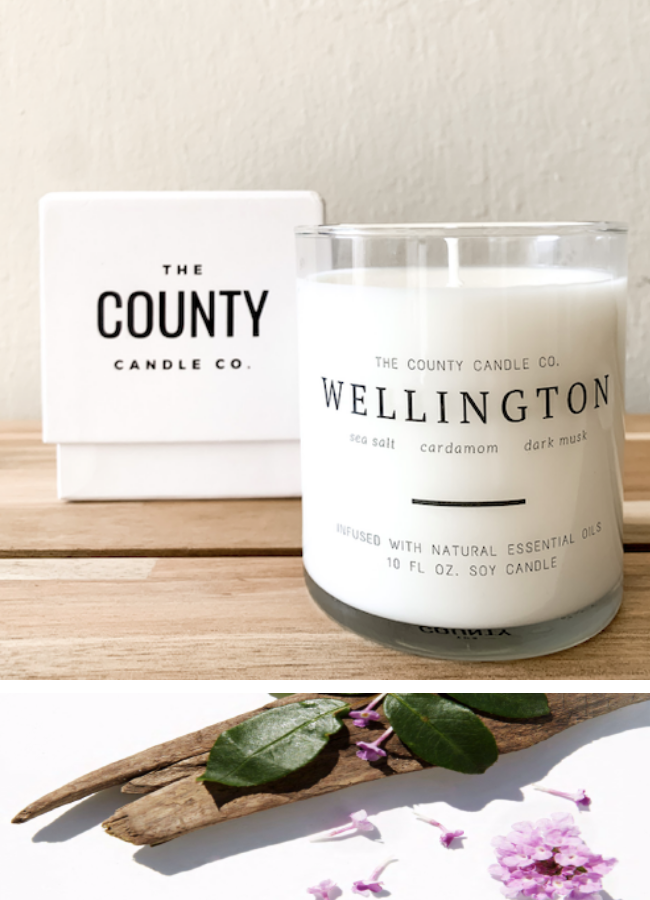 COUNTY CANDLE CO. - WELLINGTON