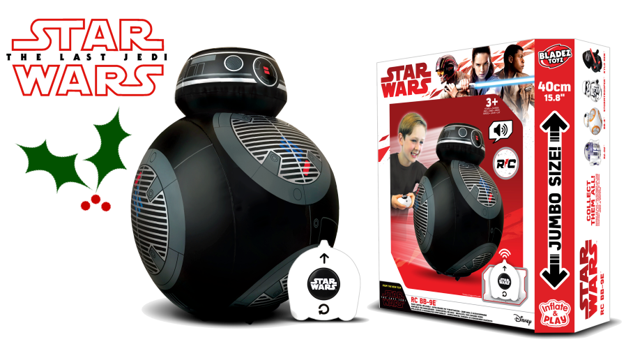 Introducing New Droid BB-9E!