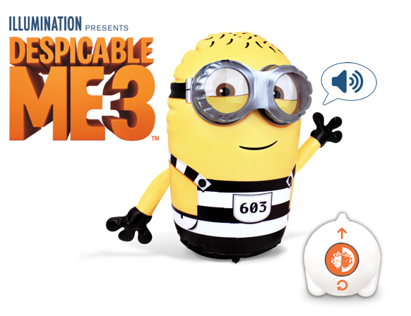 Despicable Me 3 Radio Control Inflatables Available Now!