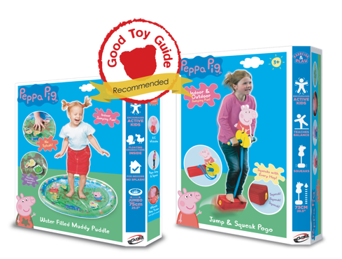 The Good Toy Guide Recommends Peppa Pig Muddy Puddle and Pogo