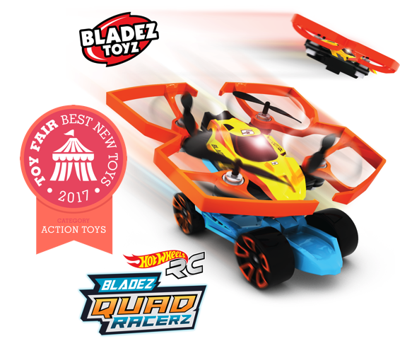 Introducing Hot Wheels R/C Bladez Quad Racerz – a Best New Toy  for 2017!
