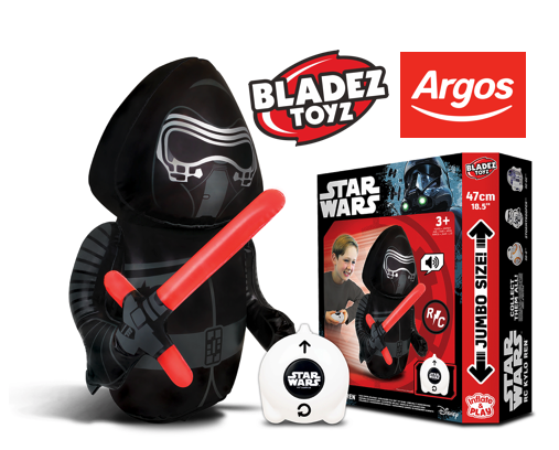 New Kylo Ren R/C Inflatable Now Available Only at Argos