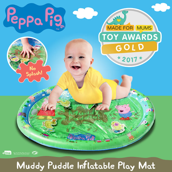 Peppa Pig Muddy Puddle Wins Gold!