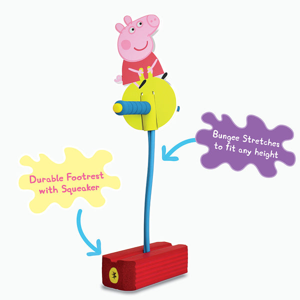 Peppa Pig Jump and Squeak Pogo