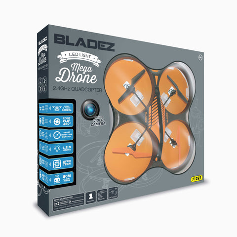 Aldi -RC X Bladez Mega Drone with Intergrated Video Camera