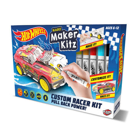 Hot Wheels Maker Kitz - DIY Design & Race Kit