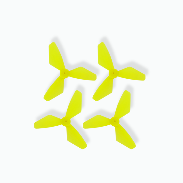Bladez Hot Wheels Hawk Racing Drone Spare Yellow Rotors