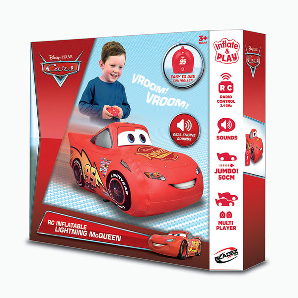 Radio Control Inflatable Lightning McQueen