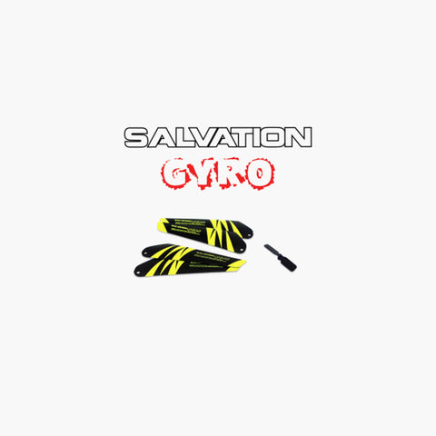 Salvation Gyro 3 Channel - x4 Main bladez x1 Tail Blade